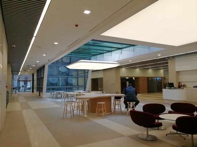 Barrisol az Ericcson új irodaházában