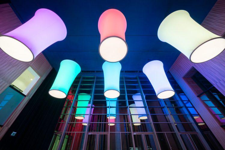 Az Üvegterem világításának felújítása